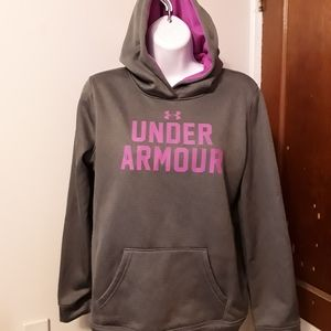 Under armour Hoodie Youth XL- Girl's or XL Jr's